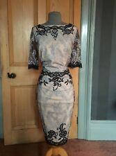 Vestido de noche Preciosa MONSOON Encaje/Bordado ajustada, talla 16