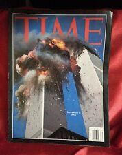 Time Magazine, September, 11, 2001, World Trade Center, No Label, Special Issue