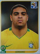 Panini 504 Adriano Brasilien FIFA WM 2010 Südafrika