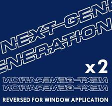 NEXT GENERATION Decals / stickers - Scania