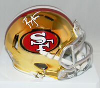 RONNIE LOTT AUTOGRAPHED SIGNED SAN FRANCISCO 49ERS CHROME MINI HELMET BECKETT