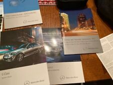 2013 Mercedes C-Class C300 Owners Manual + Other Papers