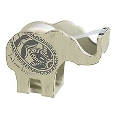 DECORATIVE ELEPHANT TAPE DISPENSER Home Office Business Desk Inspirational