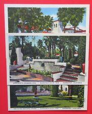 Lot of 3 Bakersfield Inn Bakersfield CA Unposted Curteich Linen Postcards