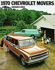Old Print. 1970 Chevrolet Suburban & Panel Truck Advertisement