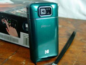 Kodak Zi10 PlayTouch Digital Video Camera HD Mini Camera 1080p ✔️ Works ✨ Clean!