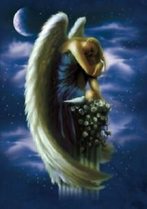 "ANGEL ON A PEDESTAL by SHANE PIERCE  -""TREE FREE"" CARD"