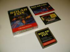 Atari 2600 ~ Solar Fox by CBS Electronics ~ Boxed / Complete ~ NTSC