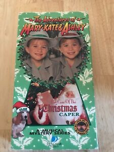 The Adventures of Mary-Kate & Ashley - The Case of the Christmas Caper (VHS,1995