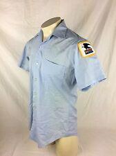 Vtg Obsolete POST OFFICE Mail Letter Carrier Uniform Shirt Shoulder Patch USPS