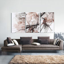 Abstract Red Stretched Canvas Print Framed Wall Art home Decor Painting