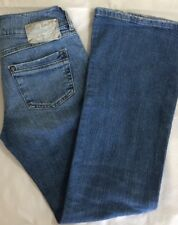 Sz 26x30 DIESEL Womens RONHAR Stretch Bootcut Medium Wash Denim Blue Jeans Pants