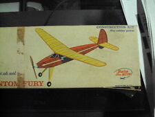 Vintage phantom fury MODEL AIRPLANE Balsa Wood KIT COMET Chicago