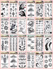 US Seller-20 sheets Non-Permanent Tattoos angel wing bohemian temporary tattoo