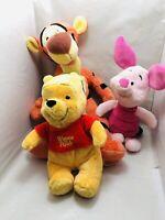 winnie the pooh Piglet Tiger Plush Posh Paws Disney Store