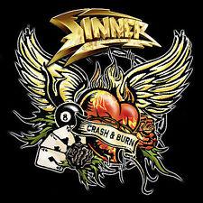 Sinner: Crash & Burn CD Audio CD