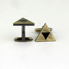 The Legend Of Zelda Triforce Triangle Cufflinks Pattern Suit Gift Bag