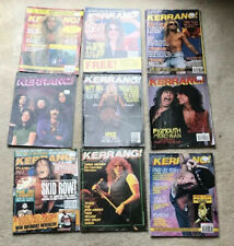 9 Kerrang Magazines