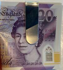 SUPERB VINTAGE SOLID STERLING SILVER MONEY CLIP 16.8 grams