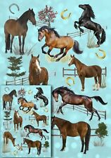 Horse / Pony Lover Wrapping Paper by Starprint - Semi gloss with matching card