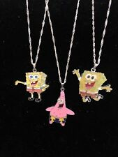 Spongebob Squarepants & Patrick Starr Childs Necklace