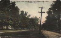 Pomfret CT Pomfret Street South c1910 Postcard