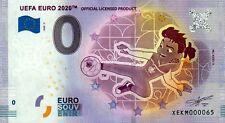 Null Euro Schein - 0 Euro Schein - UEFA Euro 2020 - Maskottchen 2020-3