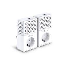 TP-LINK AV1000 1000Mbit/s Ethernet LAN White 2pc PowerLine UK Plug