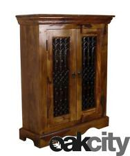 Maharajah Indian Rosewood Medium DVD CD Unit - Solid Wood Storage Cabinet