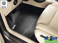 Original Volkswagen VW Gummimatten Fussmatten Allwettermatten Golf Plus 5 6 V VI