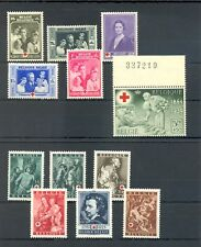 BELGIUM BELGIE RED CROSS -- 21 STAMPS-- ** MNH VF