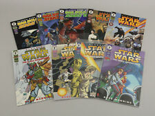 Lot 9 Classic Star Wars Comics Early Adventures, Han Solo Stars End,Devil Worlds