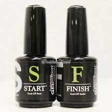 JESSICA GELeration Soak Off Gel 2pc Kit> Base Coat & Top Sealer (START & FINISH)