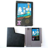 Gyromite (Nintendo Entertainment System, 1985) Punched Paper Tab 5 Screw Tested