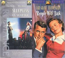 Sleepless in Seattle & People Will Talk; 2 Romance VHS