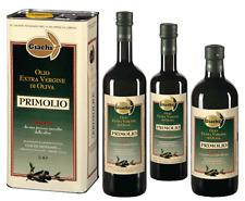 """12 BT. OLIO EXTRA VERGINE D'OLIVA """"PRIMOLIO"""" 1 LT. (foto a dx) bottiglia leggera"""
