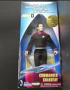 "9"" Commander Chakotay Playmates Warp Factor 1 Star Trek Voyager MIB 1997"