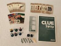 Clue Board Game REPLACEMENT Parts Pieces Cards Instructions Notepad Weapons