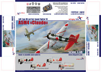 "Wingsy Kits - D5-02 - IJN Type 96 carrier-based fighter IV A5M4 ""Claude"" - 1:48"