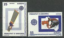 CEPT 1991/span. Andorra MiNr 221/22 **