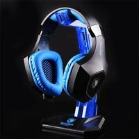 New Universal Gaming DJ Gamer Headphone Headset Hanger Bracket Holder Rack Stand