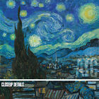 """49W""""x37H"""" THE STARRY NIGHT by VINCENT VAN GOGH - MUSEUM OF MODERN ART CANVAS"""