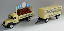 GRELL HO 1/87 CAMION REMORQUE TRUCK TRAILER MAGIRUS S6500 PAULANER MÛNCHEN