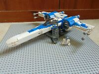 Custom LEGO Star Wars X-Wing Fighter 12+ R2-D2 Blue White