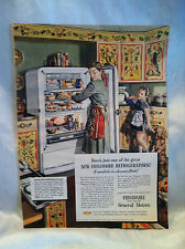 Original Vintage 1948 Frigidaire Refrigerator Ad From Good Housekeeping Magazine