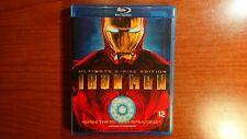 1559 Blu-ray Iron Man Ultimate 2 Disc Edition Regio 2