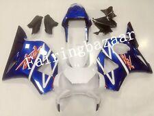 Fit for CBR954 RR 2002 2003 Blue White ABS Injection Bodywork Fairing Kit