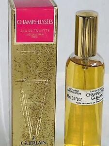 CHAMPS ELYSEES Guerlain 3.1 Oz Vintage Eau de Toilette for Women NIB France