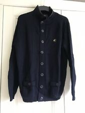 "One True Saxon Navy Jumper Size L AtoA21"" L26"""