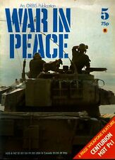 WAR IN PEACE 5 CENTURION MBT BRITISH ARMY ISRAELI IDF_IAF_JERUSALEM 1948_PARA NO